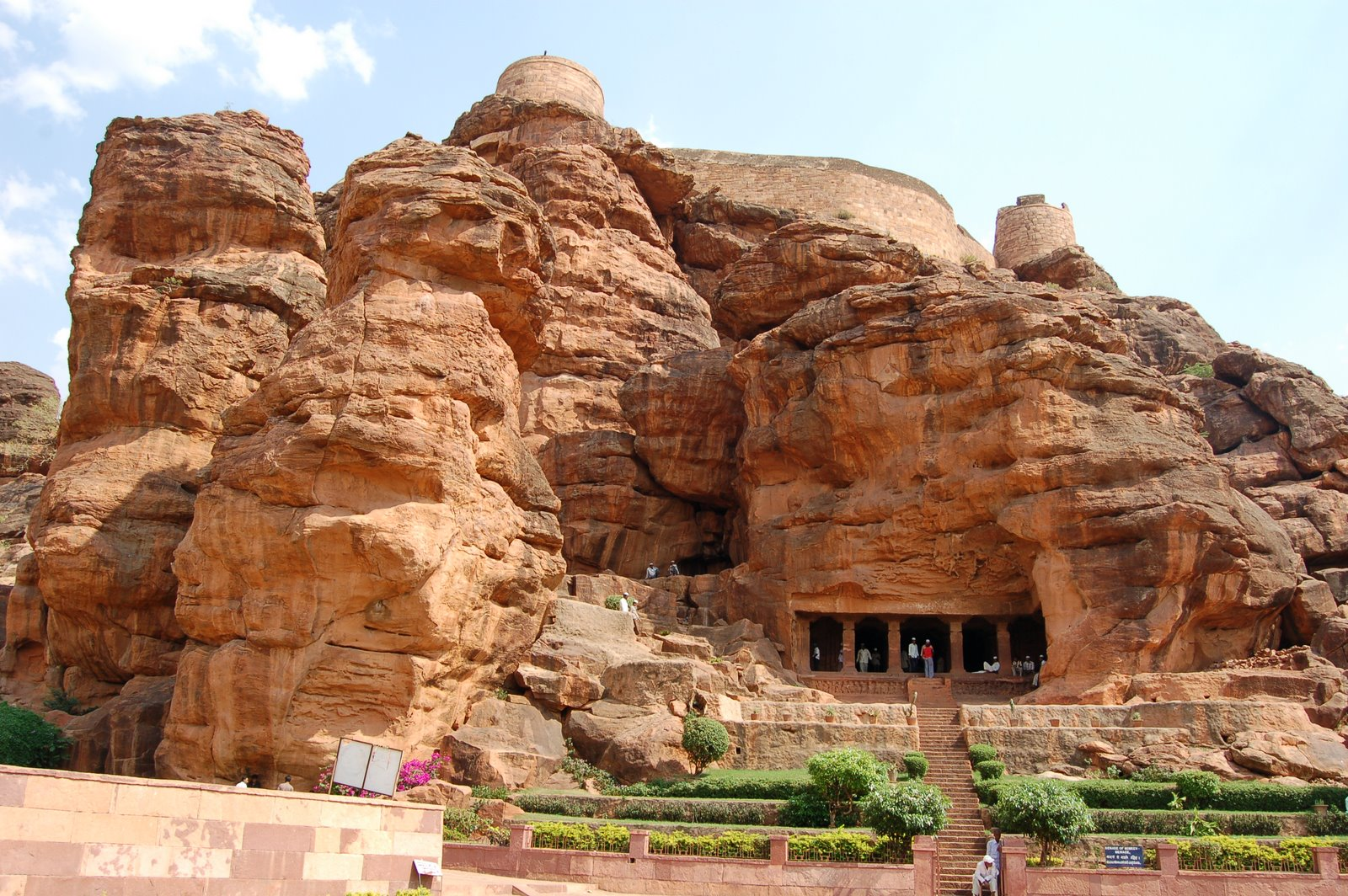Badami caves india